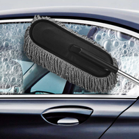 Universal Microfiber Car Auto Cleaning Brush Car Cleaning Tools Dust Duster Brush Microfiber Large Clean Duster