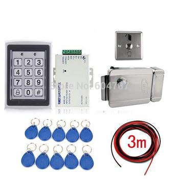 NEW RFID Card Door Lock Access Control System Kit +Electronic Lock +10 Cards
