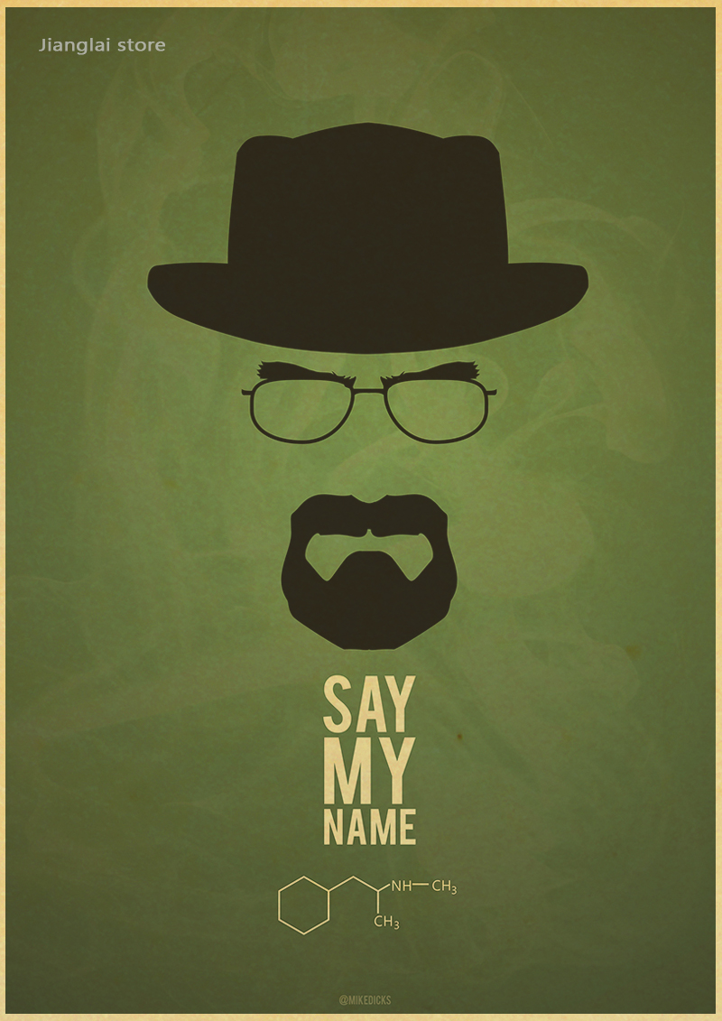 Breaking bad posters movie posters vintage kraft paper retro wall breaking bad posters movie posters vintage kraft paper retro wall sticker home decor in wall stickers from home garden on aliexpress alibaba group amipublicfo Choice Image