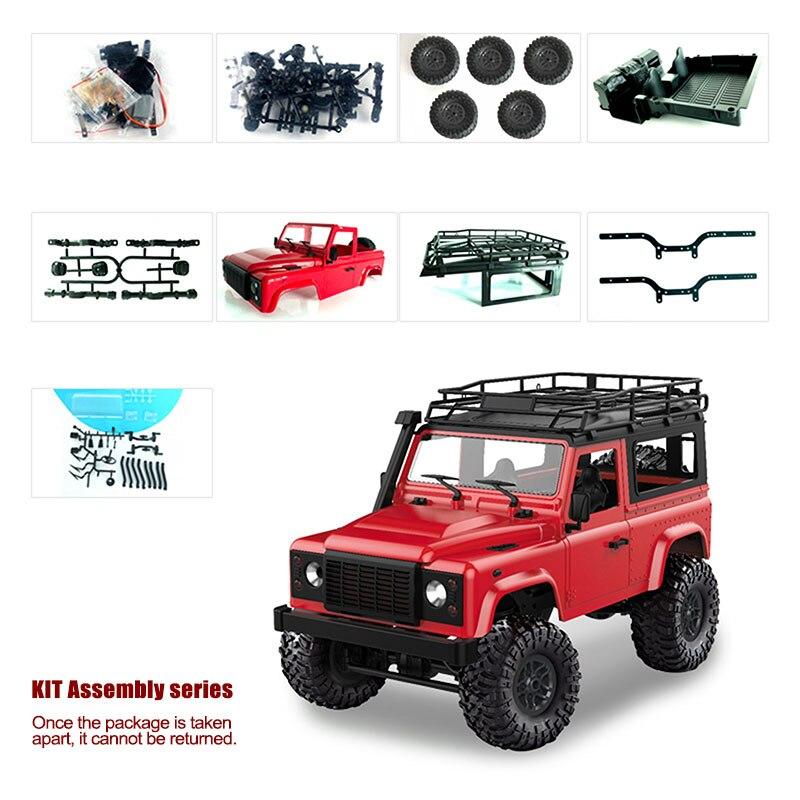 1/12 échelle RC voiture télécommande camion jouet MN-90/D90 pick-up voiture pour enfants adulte M09