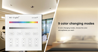 4 Zone Milight B3 RGB RGBW And Brightness Dimming Smart Panel Remote Controllerfor Led Strip Light