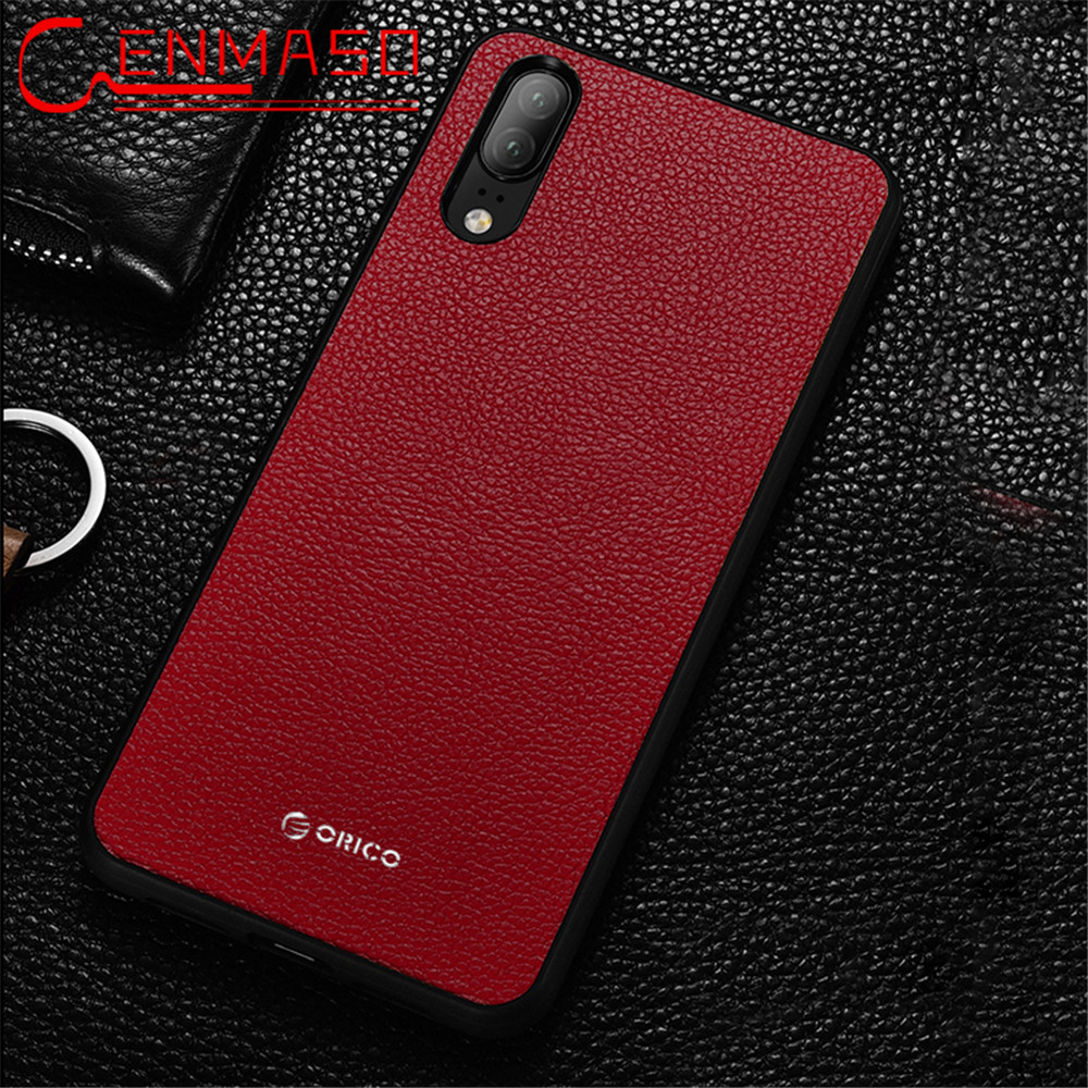 arrives 74511 b0932 US $6.11 49% OFF|Huawei P20 pro case Genuine leather back cover case Retro  fashion magnetic car holder Huawei P20 lite case P20pro phone case-in ...