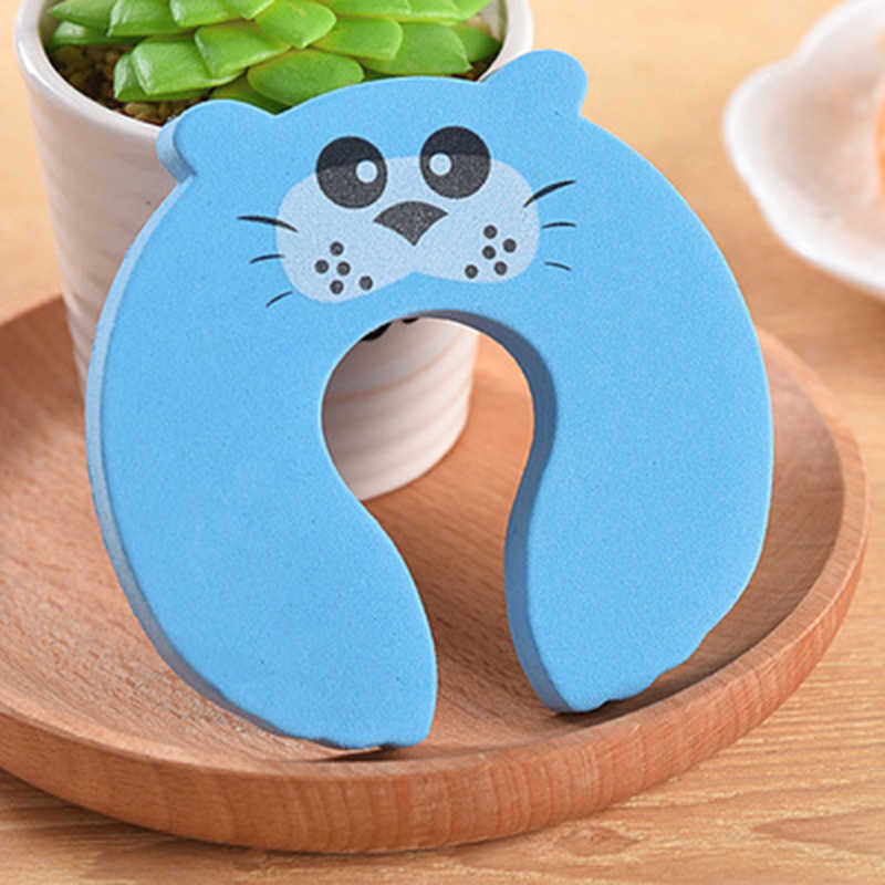 Animal Jammer Door Stops Stopper Holder Lock For Baby Protector Safety Children's Exit Card Safety Guard Finger Protector