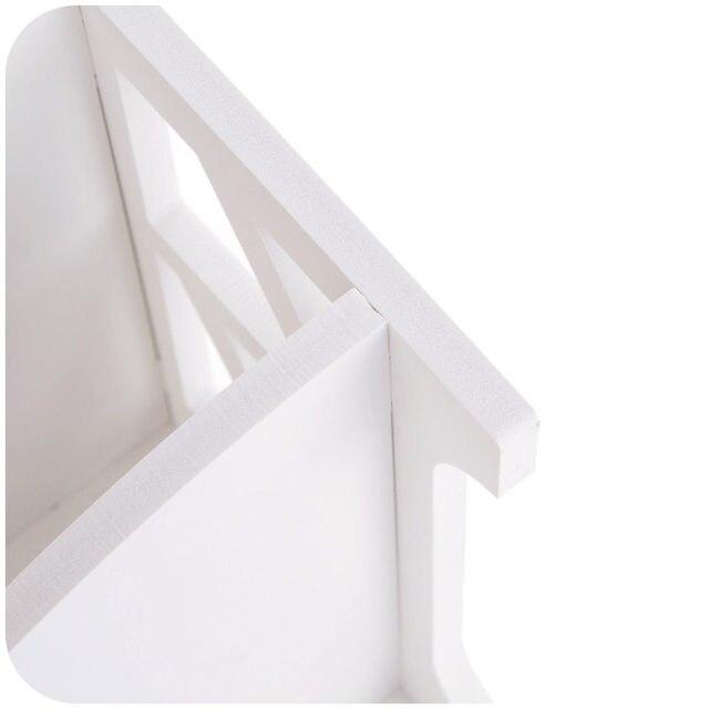 Online Shop Houten 2-tier Wandplank Douche Plank Shampoo Houder ...