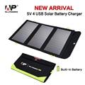 Allpowers 5 v 21 w portable solar panel cargador de batería incorporada 8000 mah batería de energía solar para el iphone ipad samsung htc sony etc.