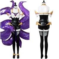 Game LOL KDA Ahri Cosplay Costume Ahri Costume Full Set For Girls Women Halloween Costume Tailor Made