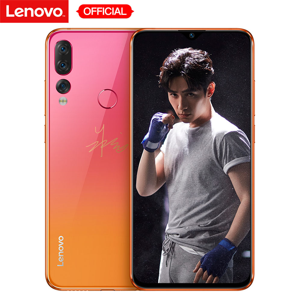 Lenovo Z5s Face ID 6GB 128GB Triple Rear Camera Snapdragon 710 OctaCore Mobile Phone Notch Screen