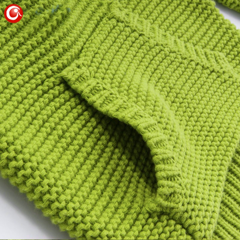 9M-4Y Knitting Pattern Baby Infant Cardigan With Pocket Kids Boys Cotton Sweater Clothes Children Girls Long Sleeve Soft Jumper (3)