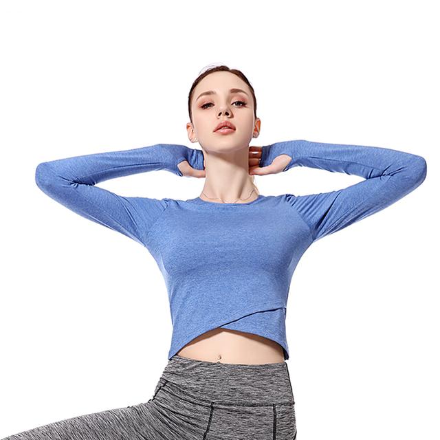 Yoga Long Sleeve Shirt 2 Piece Set