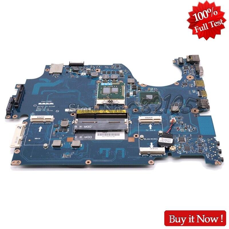 NOKOTION CN 0Y99F7 0Y99F7 Laptop Motherboard For Dell studio 1747 1749 Main Board NAT02 LA 5154P