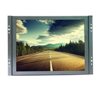 Factory Direct Selling 1024 768 HD Lcd Monitor Bnc Cctv Mini Lcd Monitor With AS BNC