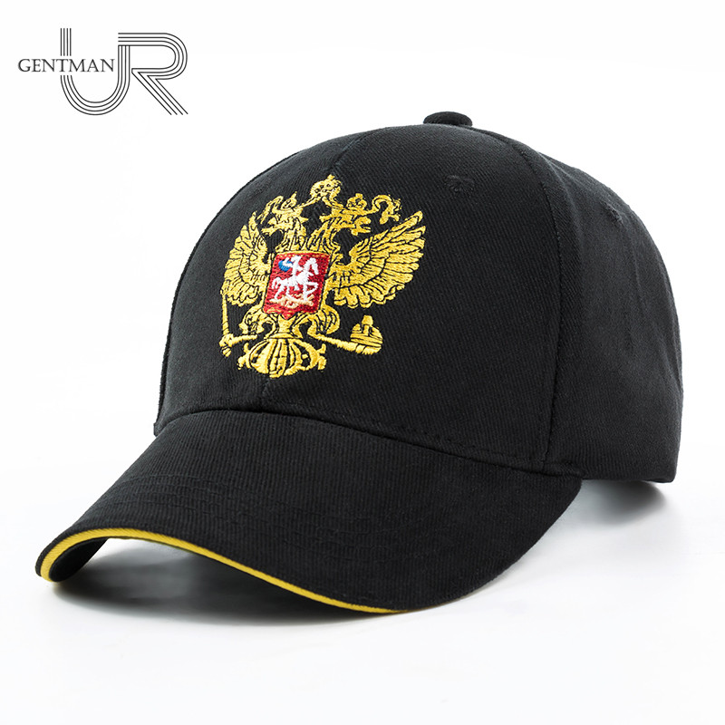 New Unisex 100% Cotton Outdoor Baseball Cap Russian Emblem Embroidery Snapback Fashion Sports Hats For Men & Women Patriot Cap 2017 new hot brand cotton men hat baseball cap casual outdoor sports unisex snapback hats cap for men women