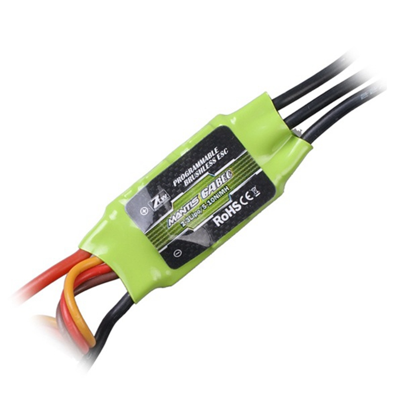 1pcs ZTW Mantis 6A 12A 35A BEC ESC Electronic Speed Control For RC Models Airplane Helicopter ztw mantis series 45a esc electronic speed controller high quality