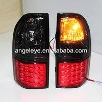 Задние огни для Toyota Prado 3400 FJ90 LC90 светодиодной подсветкой 1998 2003 год красные, черные lf