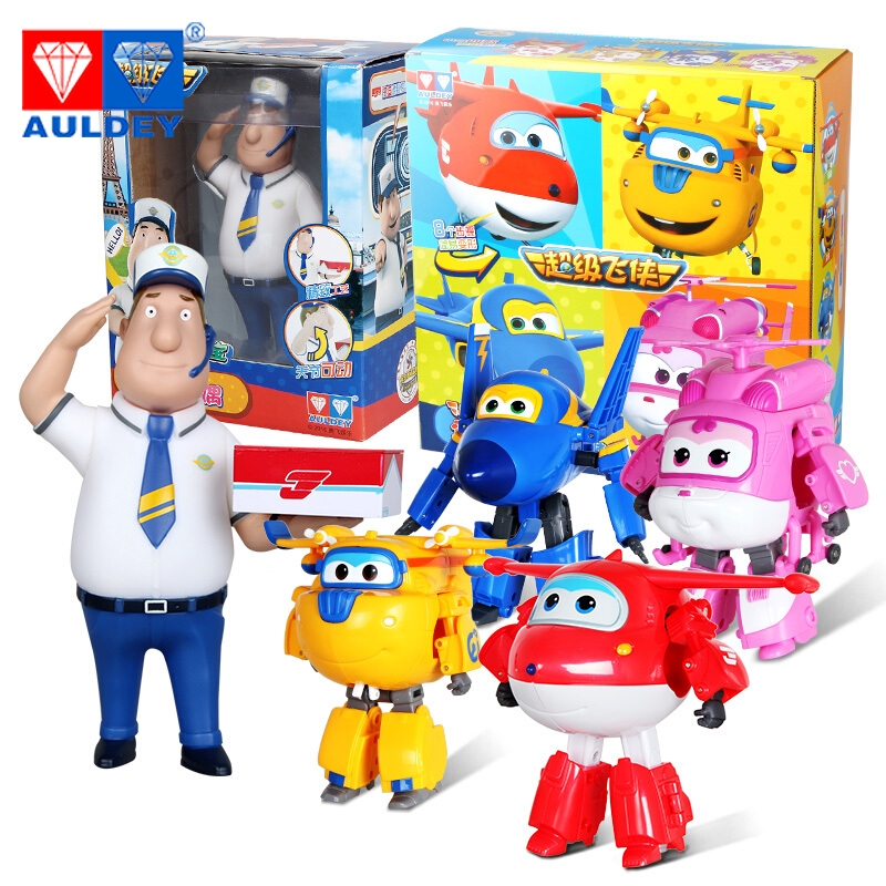 5pcs/set Big 15cm Super Wings High Quality Original JIMBO JETT JEROME DIZZY DONNIE ASTRA MIRA Deformation Action Figures Toys 15 cm jimbo super wings mini airplane abs robot toys action figures super wing transformation jet animation children kids gift