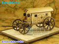 1/45 Age of Napoleon Field gun instrument weapon wooden model kit with middle size plate and hospital car