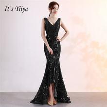 Пром платье Бисероплетение с блестками it's yiiya вечерние
