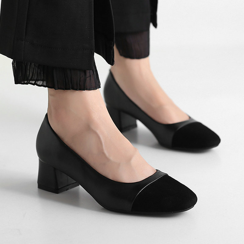 2019 New Spring Women Mature Pumps High Heels Fashion -8784
