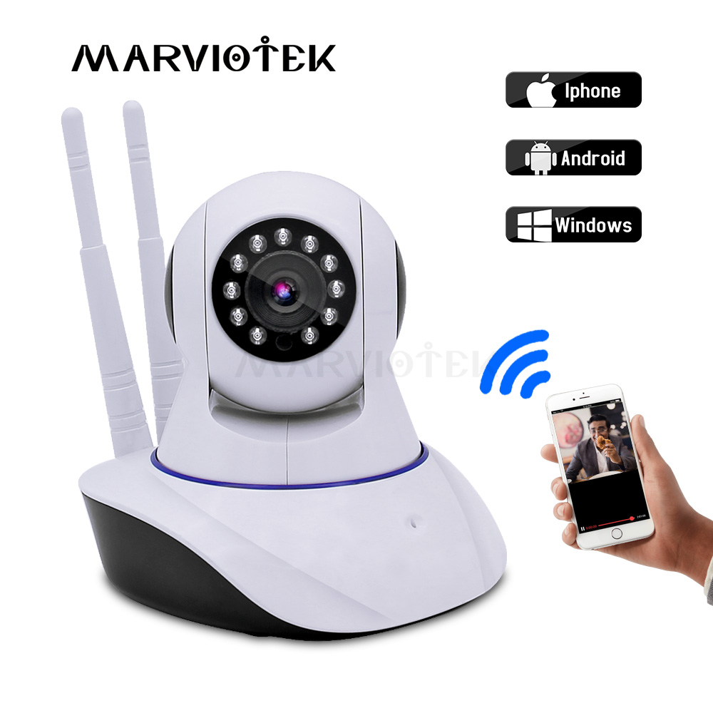 Baby Monitor 720P HD IP Camera WiFi Night Vision Audio Video Surveillance Cameras Wireless CCTV Camera Smart Home Security