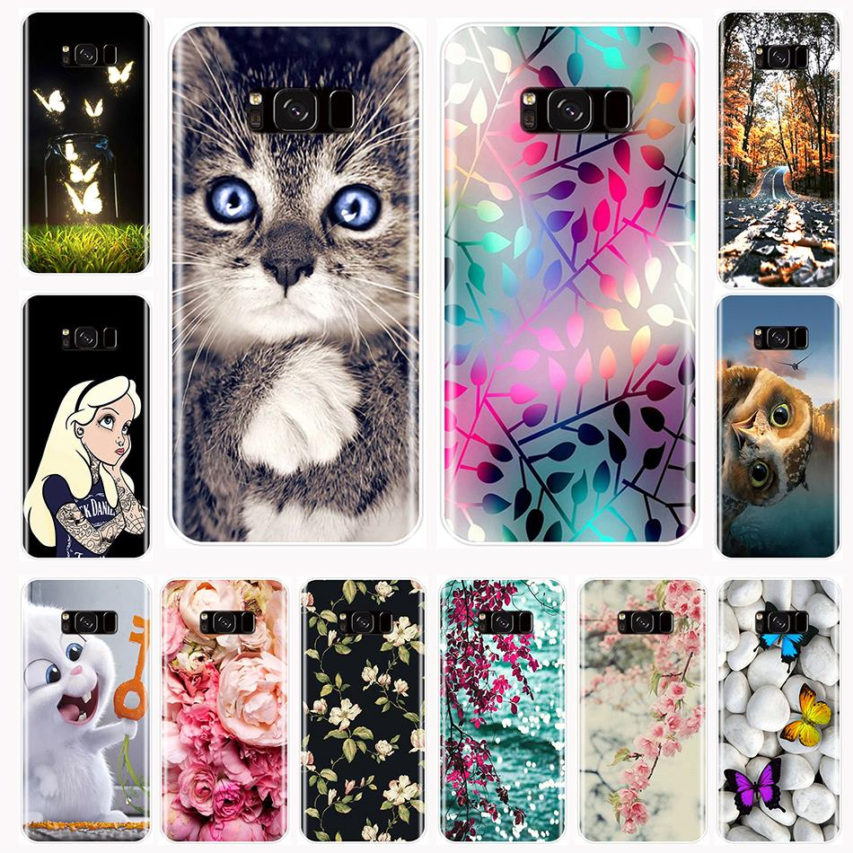 Back <font><b>Cover</b></font> For Samsung Galaxy S5 S6 S7 Edge S8 S9 Plus Soft Silicone Cute Funny <font><b>Phone</b></font> Case For Samsung Galaxy Note 9 8 5 4 Case image