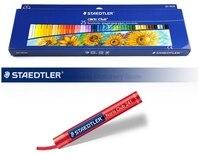 Staedtler 241 NC 25 8 мм 25 цвета масляная пастель для Книги по искусству ist студенты рисунок ручка школьные принадлежности Книги по искусству поставк...
