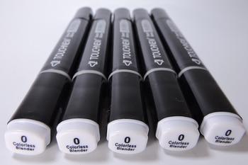 0 # bezbarwny Blender końcówki z obu stron Marker przybory do szkicowania długopis rozpuszczalny w alkoholu długopis cartoon graffiti markery długopisy