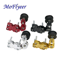 MoFlyeer Motorcycle Modification CNC Chain Tensioner Automatic Adjuster