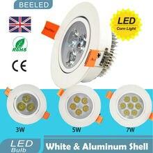2pcs/lot 3W Free shipping China Post LED Ceiling light downlight Epistar lamp Recessed Spot 85V-265V for home White