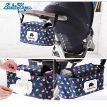 SeckinDogan Baby Stroller Bag Large Capacity Mummy Nappy Bag Fshion Print Waterpoof Handbags Baby Travel Diaper Bags