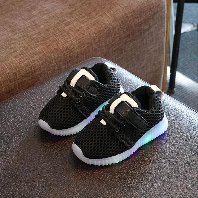 Mooie Kinderschoenen.Kkabbyii Mode Kleurrijke Verlichte Kinderschoenen Led Mooie Nieuwe