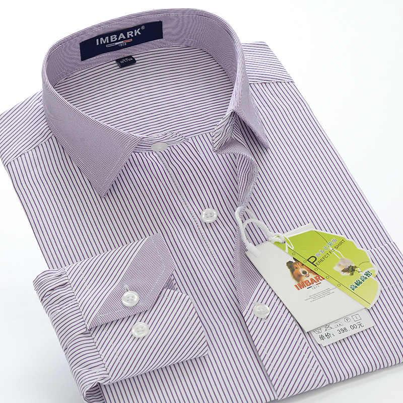 Talla grande 5XL 6XL 7XL 8XL 9XL 10XL hombres de marca de negocios caballero a rayas camisa de manga larga otoño nuevo alto la calidad de la camisa