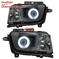 SONAR brand for Chevrolet Camaro Headlights Assembly 2009 2014 Angel Eye Ring front lamps Top Quality Easy install