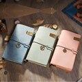 IPBEN новейший блокнот из натуральной кожи для путешествий, винтажный стиль, дневник для путешествий, Подарочный кошелек ручной работы, запис...
