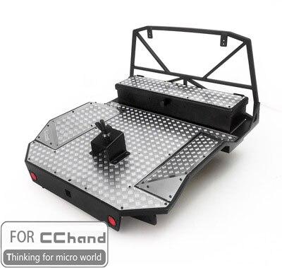 metal bucket for rear bend CChand RC4WD 1/10 TF2 Mojave RC CAR TOY-에서부품 & 액세서리부터 완구 & 취미 의  그룹 1