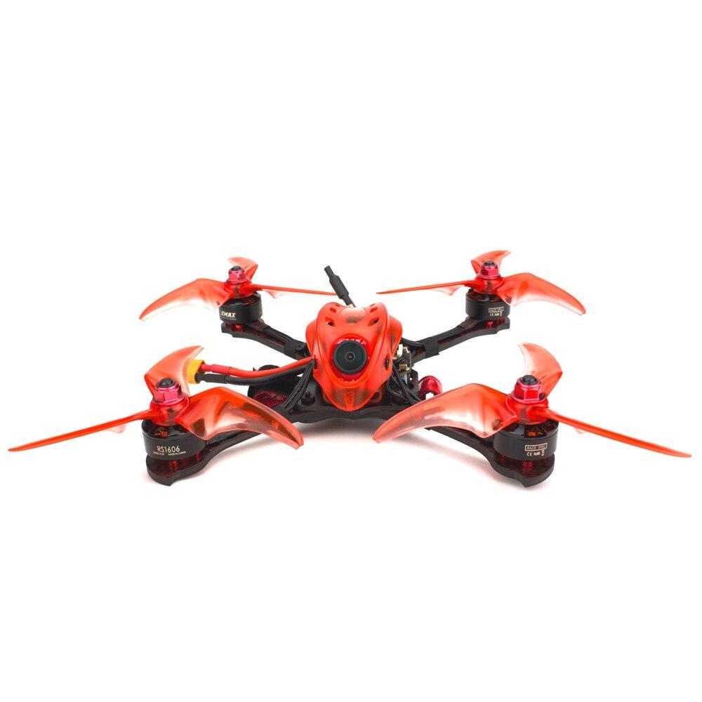 Emax Babyhawk R pro 4 pouces RC avion F4 Mini Magnum III BLHeli32 3-6s RS1606 3300kv BNF Frsky D8 FPV drone de course avec cadeau - 4