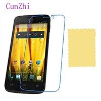 cunzhi 3 PCS Protective Film For BQ Aquaris 5 HD LCD Screen Protector Ultra Slim HD Film