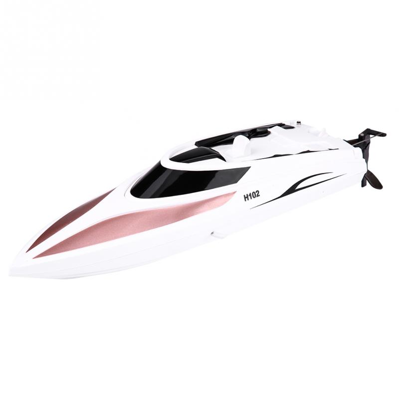 2018 RC Model Boat 2.4GHz Toys Boat Remote Control 4 Channel 26-28km/h Boat Racing Speedboat Model Outdoor Toy Gift For Children