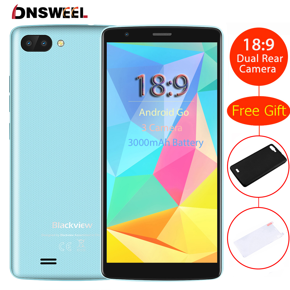 10654e33600 NEW BLACKVIEW A20 smartphone Android Go 5.5