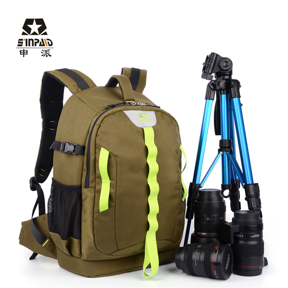 Multi-functional Waterproof Digital DSLR Bags Large Space Photography Backpack for Canon Nikon SINPAID SY-18