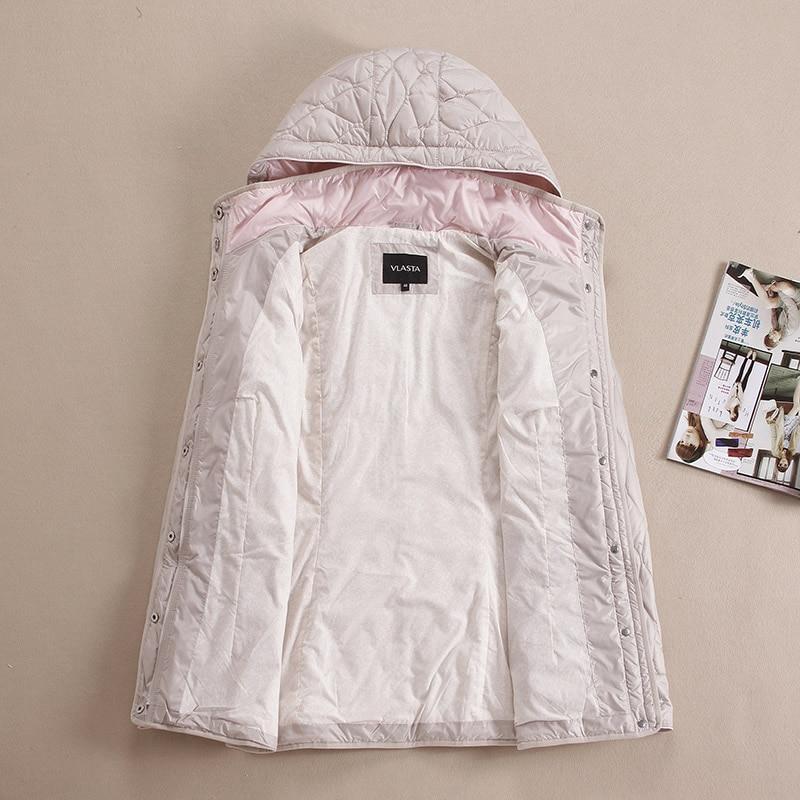 jesen i zima parka žene kratki dizajn Dugi rukav Hoodie prekrasan - Ženska odjeća - Foto 6