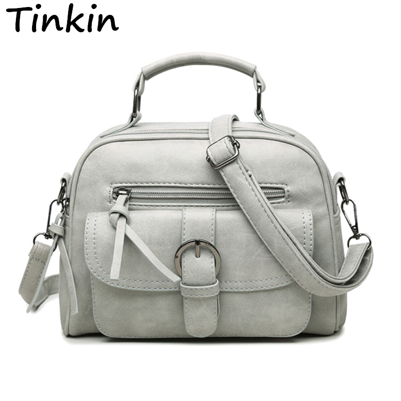 Tinkin New Arrival Women Bag Fashion Shoulder Bag Casual Simple Totes Fresh Cher