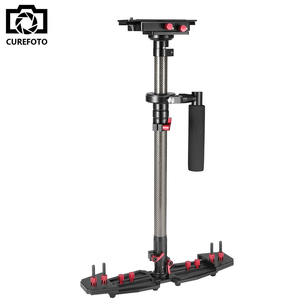 Professionele Carbon Video Steadicam Handheld Stabilizer voor Canon Nikon Sony etc. DSLR Camera Camcorder Stabiliserend Systeem
