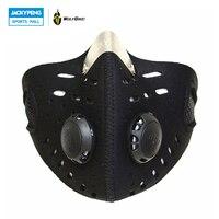 WOLFBIKE Anti-vervuiling Fiets Stad Fietsen Motorfiets Gezichtsmasker Cover Outdoor MTB Racefiets Mond-moffel Stofdicht met Filter