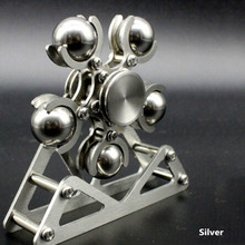 1PC 5 Steel Ball Ferris Wheel Stainless Steel Fingertip Spiral Spinning Top Adults EDC Fidget Spinner Stress Relief Toy