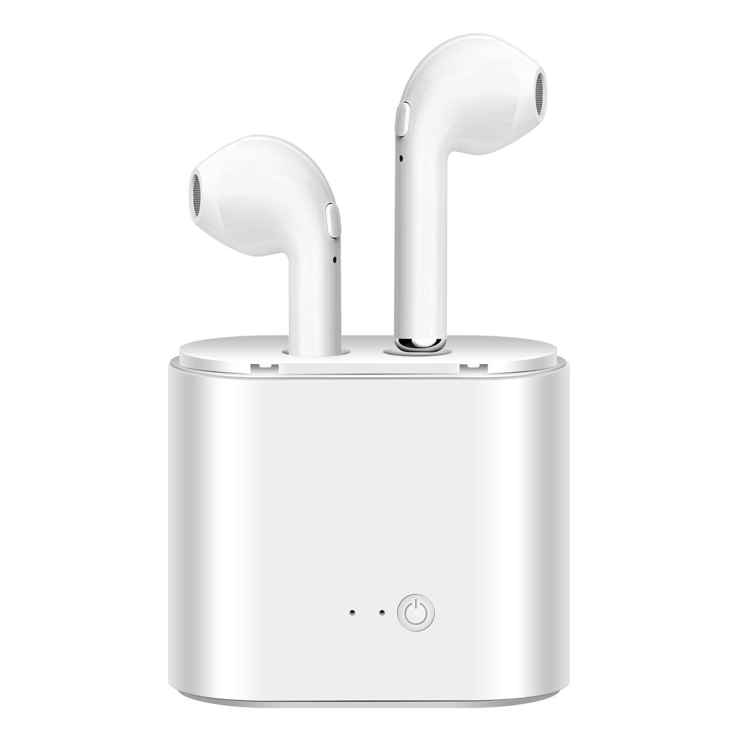 V4.1 Wireless Earphone Bluetooth TWS I7 Earphones Pair In-Ear Music Earbuds Set For Appl ...