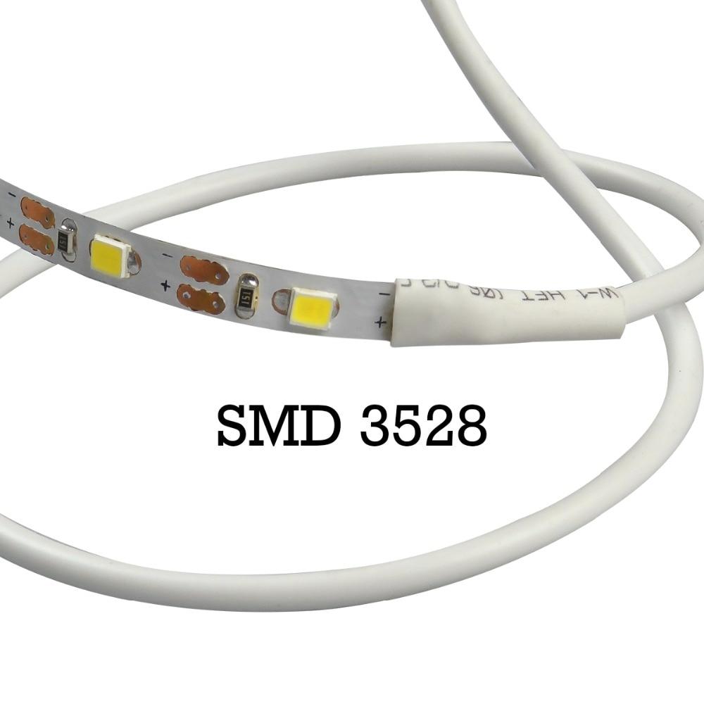 5V TV fona apgaismojums USB LED sloksne SMD3528 apgaismojums 50M 1M - LED Apgaismojums - Foto 3