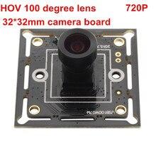 1 OV9712 megapixel cmos sensor 32x32mm 26x26mm mini câmera usb com CE FCC