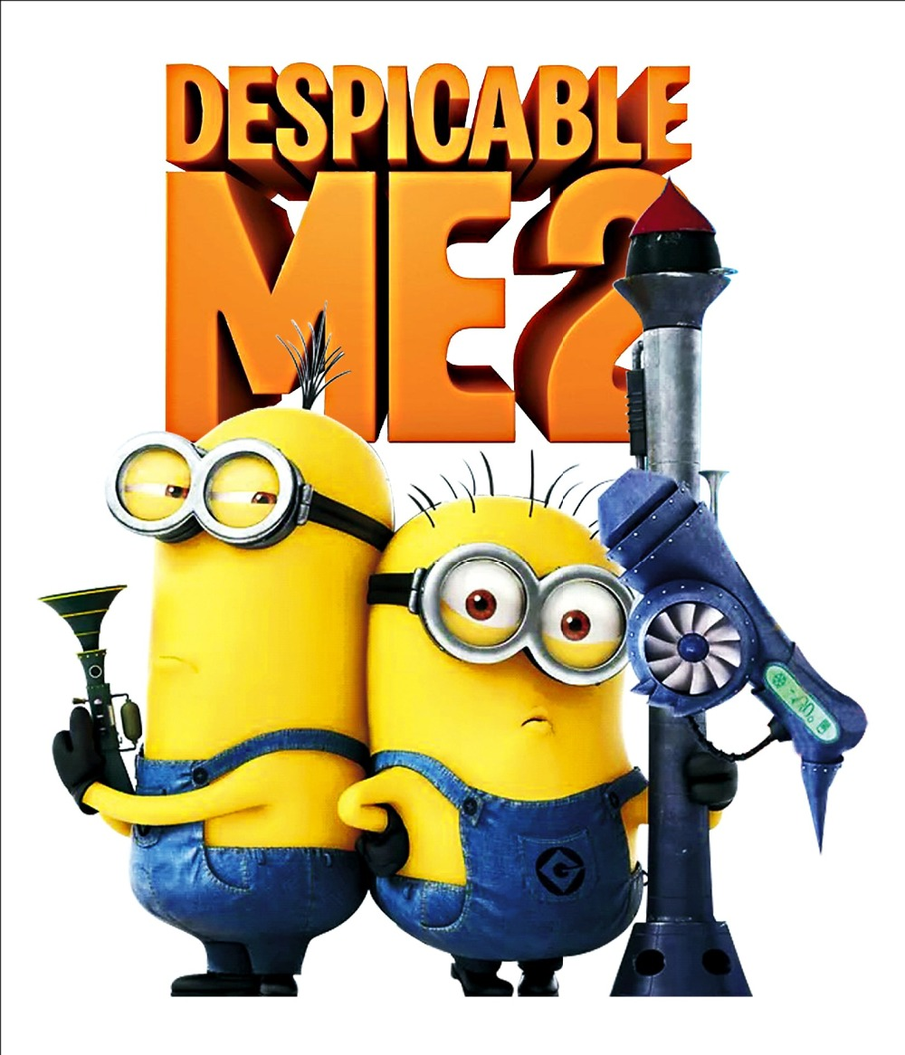 Free Shipping Hot Minions Despicable Me 2 Wall Stickers Kids Children Room Vinyl Decor In Wall