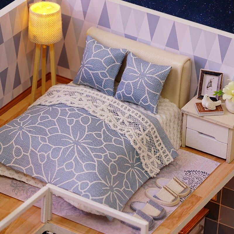 Casas de Boneca em miniatura de móveis casa Modelo Número : Doll House