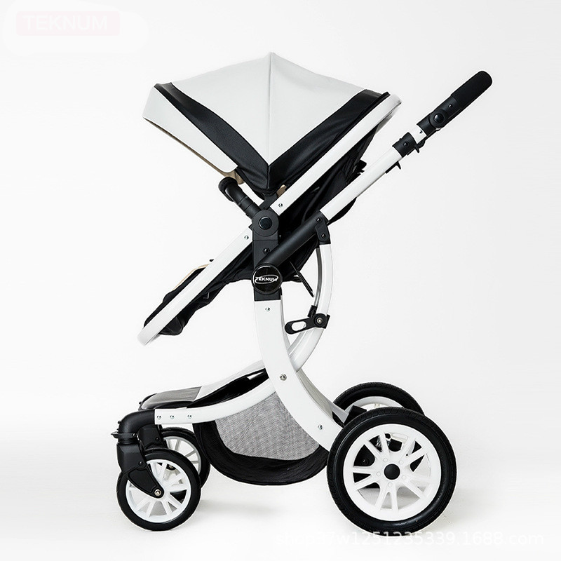 Baby strollers ultra-lightweight folding can sit can lie high landscape umbrella aluminum alloy baby trolley summer and winter eu ru no tax baby strollers lightweight folding umbrella stroller can sit can lie ultra light portable baby strollers for dolls